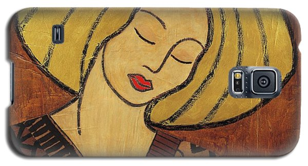 Galaxy S5 Case featuring the mixed media Serenity by Gloria Rothrock