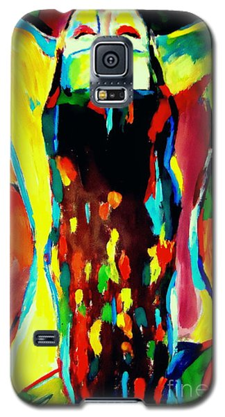 Galaxy S5 Case featuring the painting Serenity by Helena Wierzbicki