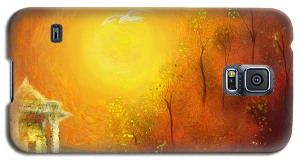 Galaxy S5 Case featuring the painting Serenity by Michael Cleere