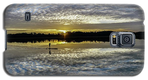 Serenity On A Paddleboard Galaxy S5 Case