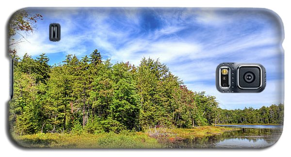 Galaxy S5 Case featuring the photograph Serenity On Bald Mountain Pond by David Patterson