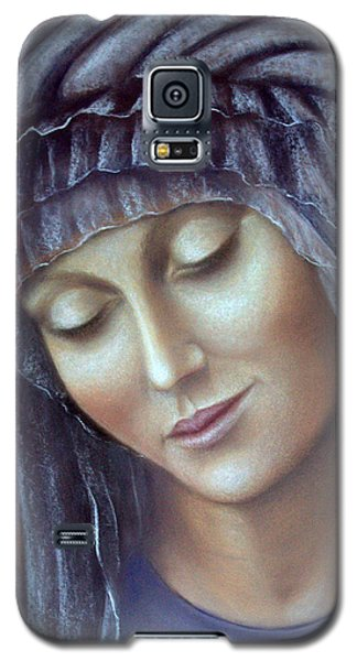 Galaxy S5 Case featuring the painting Serenity by Rosemary Colyer