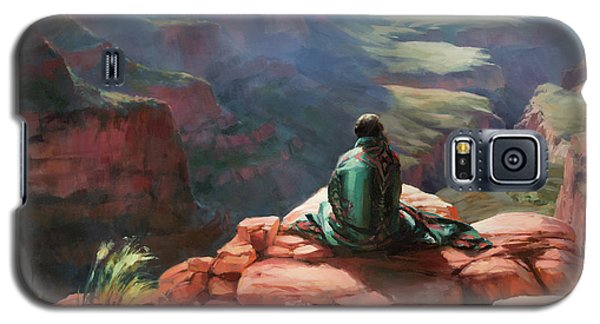 Grand Canyon Galaxy S5 Case - Serenity by Steve Henderson