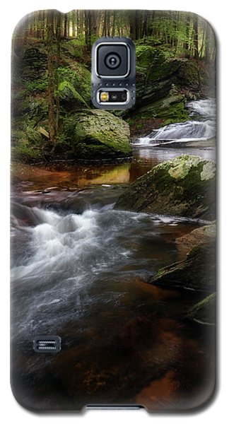 Galaxy S5 Case featuring the photograph Serenity Sunrise by Bill Wakeley