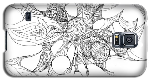 Serenity Swirled Galaxy S5 Case by Charles Cater