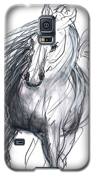 Galaxy S5 Case featuring the mixed media Sergei by Carolyn Weltman