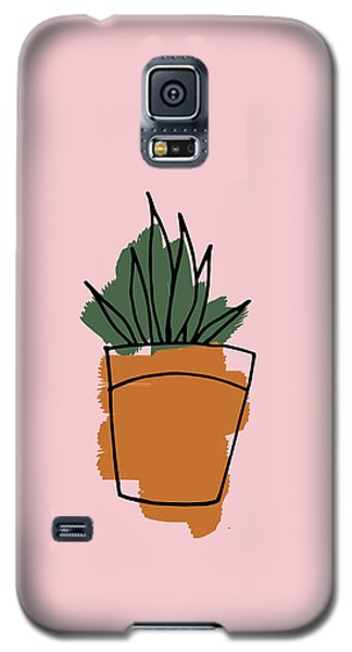 Series Pink 009 Galaxy S5 Case