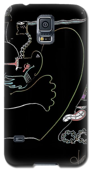 Serpent Moon Galaxy S5 Case