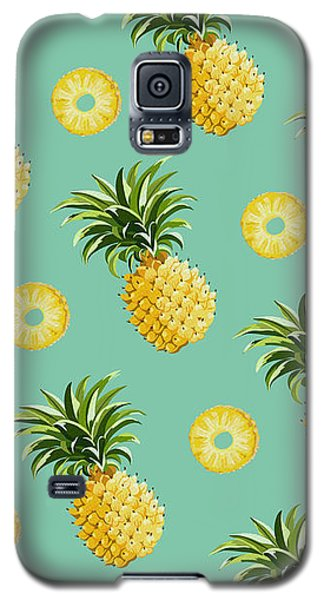 Set Of Pineapples Galaxy S5 Case by Vitor Costa