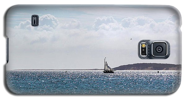 Galaxy S5 Case featuring the photograph Setting Sail by Michelle Wiarda