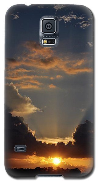 Galaxy S5 Case featuring the photograph Setting Softly by Jan Amiss Photography