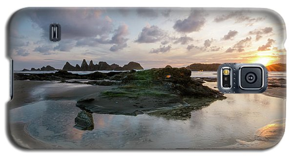 Setting Sun At Seal Rock Galaxy S5 Case