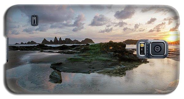 Setting Sun At Seal Rock Galaxy S5 Case