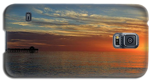 Setting Sun In Naples Galaxy S5 Case