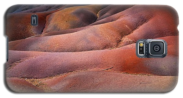 Seven Colored Earth In Chamarel 8. Series Earth Bodyscapes. Mauritius Galaxy S5 Case