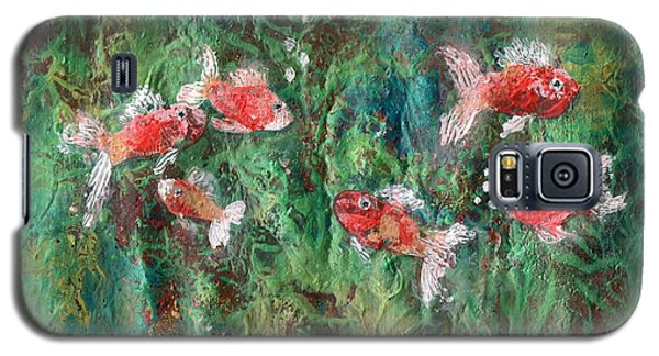 Seven Little Fishies Galaxy S5 Case