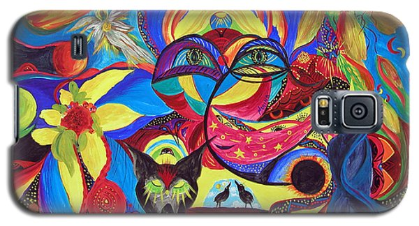 Night Of The Wolf Galaxy S5 Case by Marina Petro