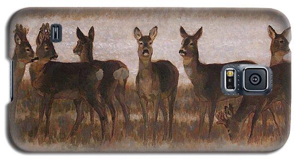 Seven Roe Deers Galaxy S5 Case