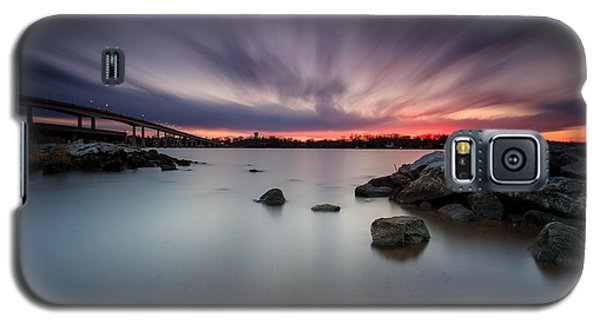 Galaxy S5 Case featuring the photograph Severn River Dusk by Jennifer Casey
