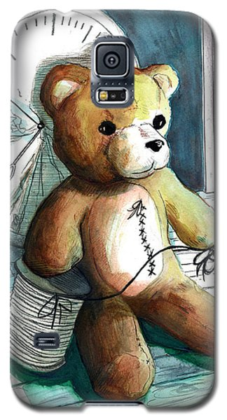 Sewn Up Teddy Bear Galaxy S5 Case