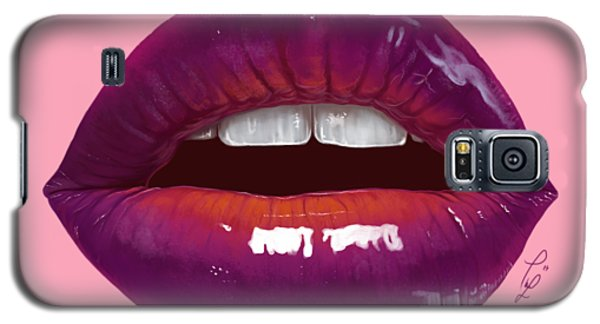Sexy Woman Lips Galaxy S5 Case by Thubakabra
