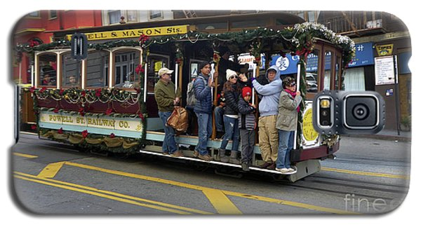 Sf Cable Car Powell And Mason Sts Galaxy S5 Case by Steven Spak