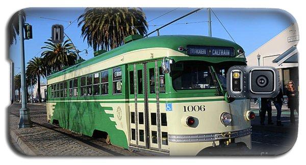 Sf Muni Railway Trolley Number 1006 Galaxy S5 Case