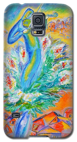 Shabbat Shalom Galaxy S5 Case by Leon Zernitsky