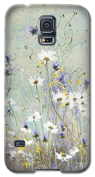 Galaxy S5 Case featuring the painting Shabby Ten by Laura Lee Zanghetti
