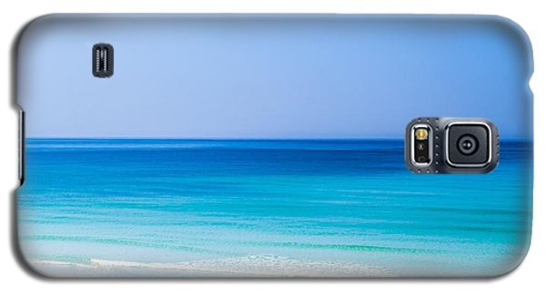 Shades Of Blue Galaxy S5 Case by Shelby  Young