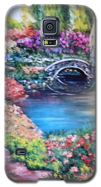 Shades Of Giverny Galaxy S5 Case