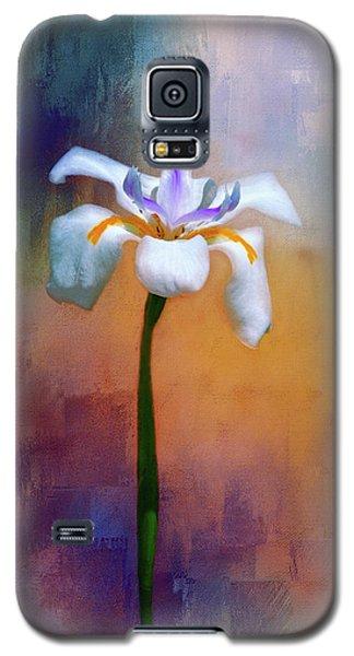 Shades Of Iris Galaxy S5 Case by Carolyn Marshall