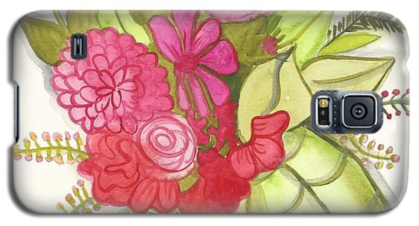 Shades Of Red Bouquet Galaxy S5 Case