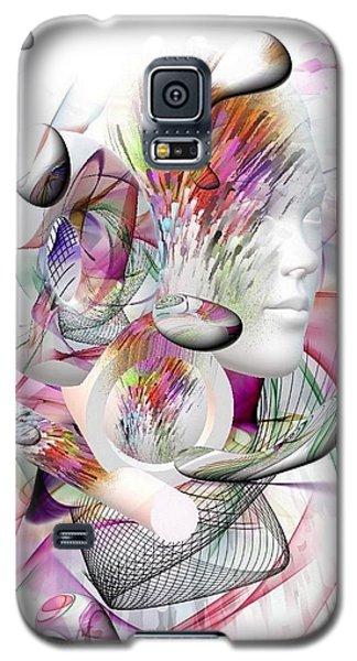 Shadow Face By Nico Bielow Galaxy S5 Case