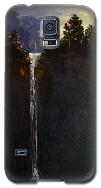 Shadow Falls Galaxy S5 Case by Helen Harris