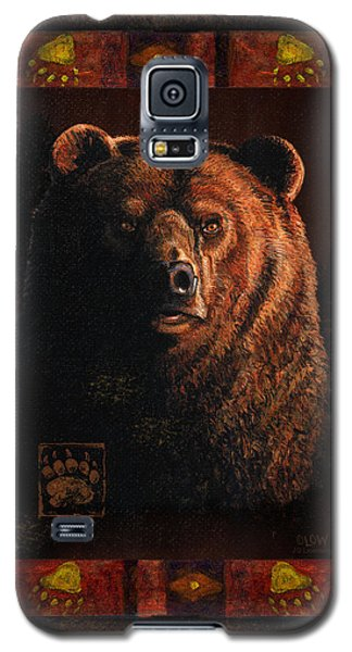 Shadow Grizzly Galaxy S5 Case