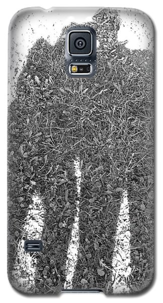Shadow In The Meadow Bw Galaxy S5 Case