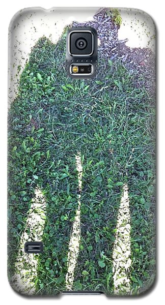 Galaxy S5 Case featuring the photograph Shadow In The Meadow by Wilhelm Hufnagl
