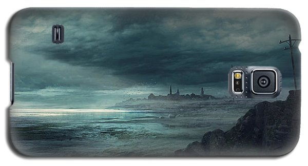 Boston Galaxy S5 Case - Shadow Over Innsmouth by Guillem H Pongiluppi