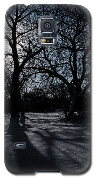 Shadows In January Snow Galaxy S5 Case