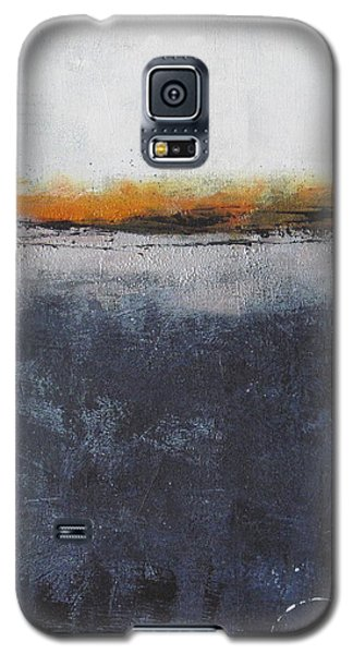 Galaxy S5 Case featuring the painting Shadows In The Night by Nicole Nadeau