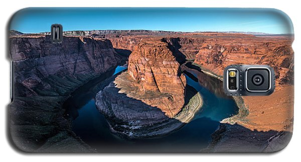Shadows Of Horseshoe Bend Page, Arizona Galaxy S5 Case