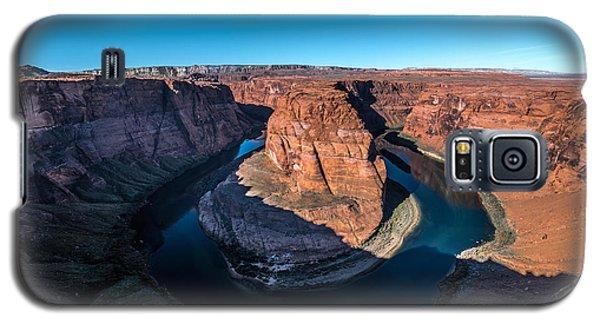 Shadows Of Horseshoe Bend Page, Arizona Galaxy S5 Case