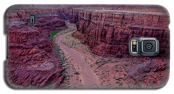 Shafer Canyon At Sunset - Moab - Utah Galaxy S5 Case by Gary Whitton