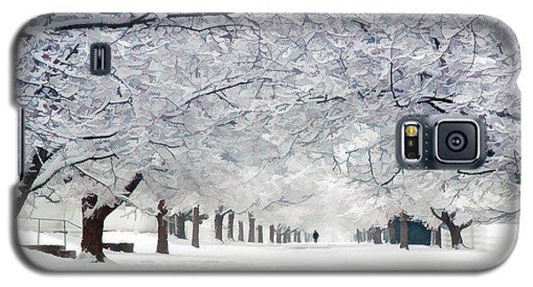 Shaker Winter Walkway Galaxy S5 Case