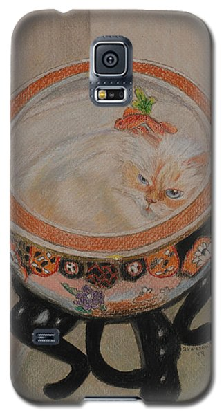 Shakespeare In A Chinese Fishbowl Galaxy S5 Case by Quwatha Valentine