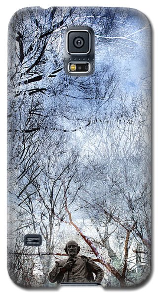 Shakespeare In The Park Collage Galaxy S5 Case
