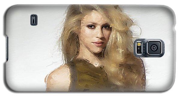 Shakira Galaxy S5 Case by Iguanna Espinosa