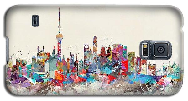 Shanghai Skyline Galaxy S5 Case by Bri B