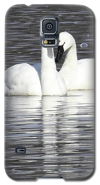 Galaxy S5 Case featuring the photograph Sharing A Moment by Gary Wightman